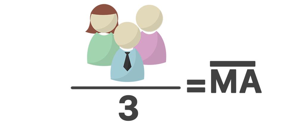 O que é a média aritmética (MA)?