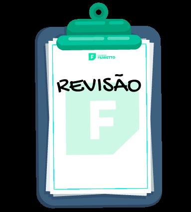 Bloco do Ferretto mostrando que será feita uma revisão