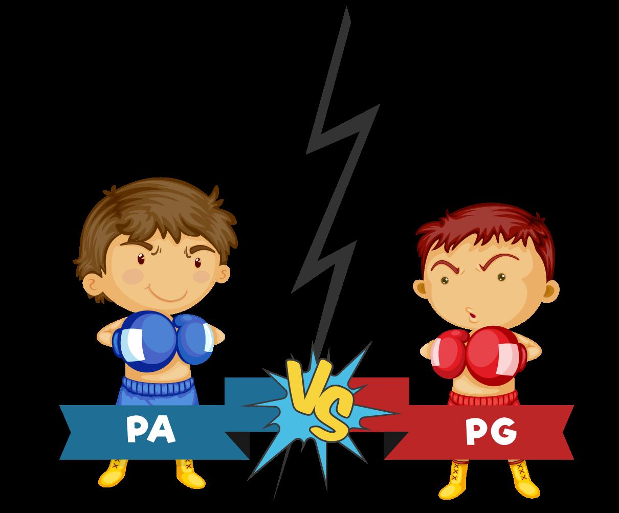 PA está lutando contra a PG