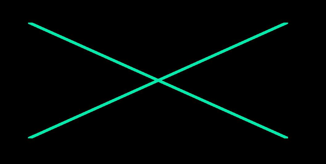 duas diagonais do retângulo possuem o mesmo comprimento