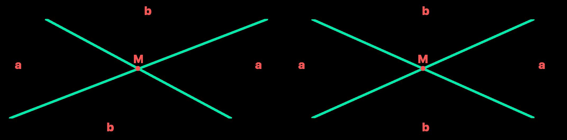 diagonais do retângulo se encontram em seus pontos médios