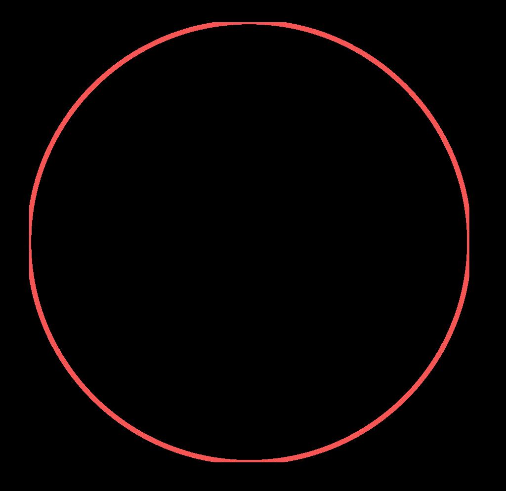 circunferência dentro do quadrado