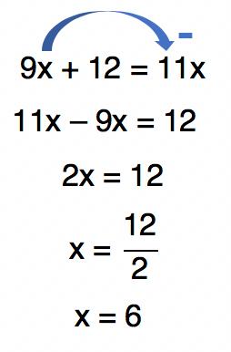 o valor de x da equação 3/4+1/x=11/12 é 6