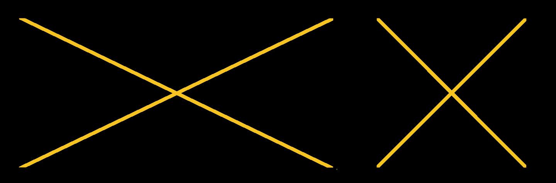 diagonais do quadrado têm a mesma medida