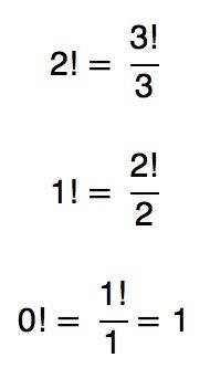 0!=1!/1=1