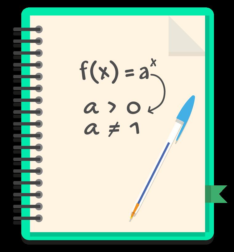 em uma função exponencial f(x) = aˆx, a deve ser maior que zero e diferente de 1