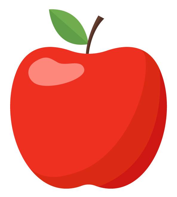 maçã em perfeito estado
