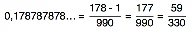 0,178787878... = 59/330