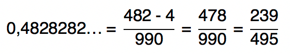0,4828282... = 239/495