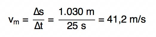 resolução de questão da FGV sobre velocidade média