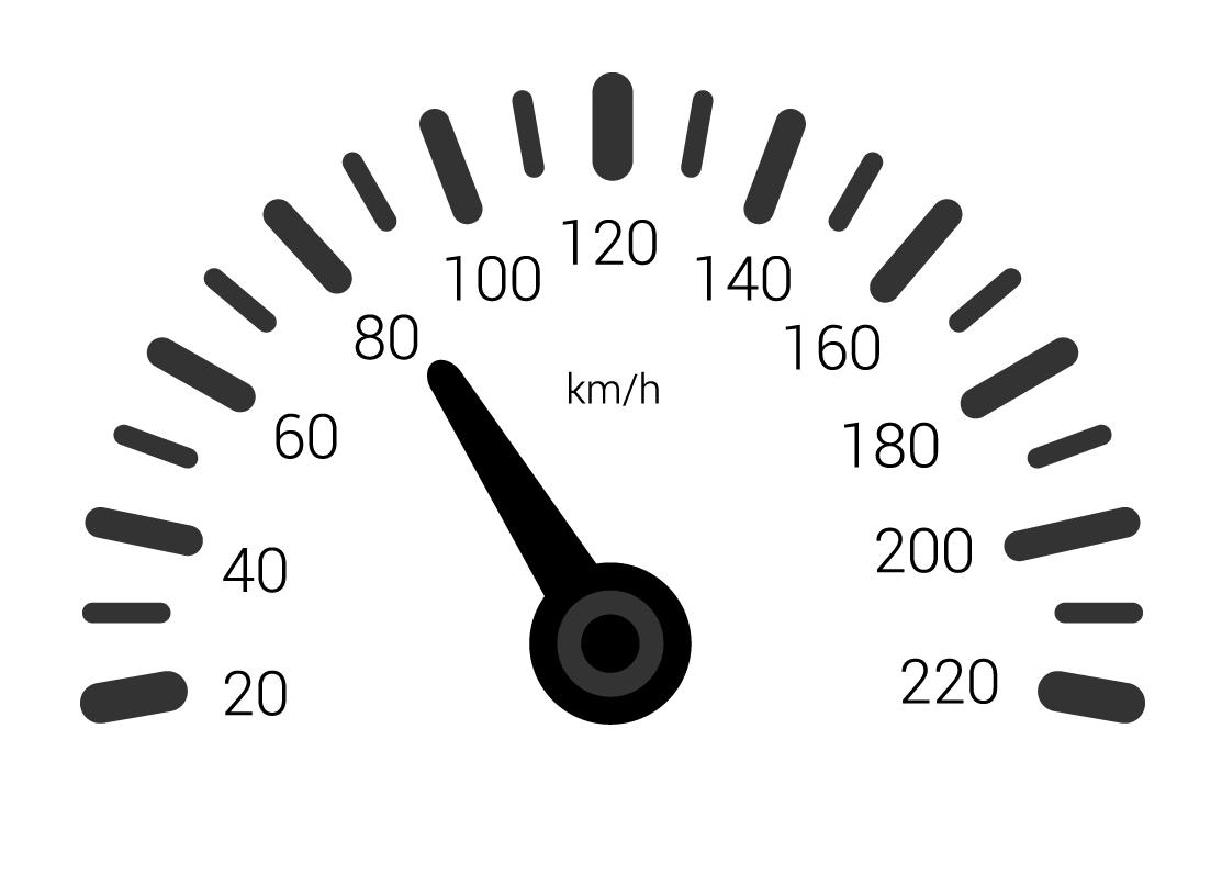 velocímetro de veículo
