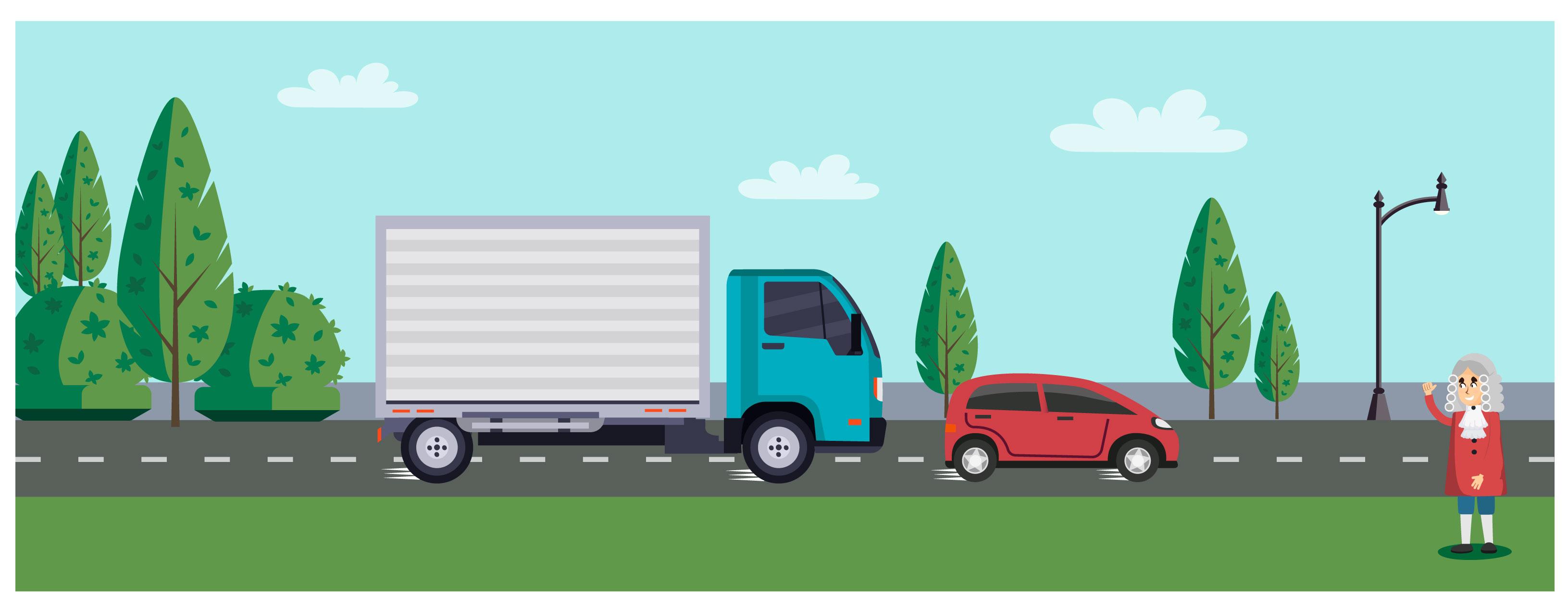 Quem tem mais energia cinética: carro ou caminhão?