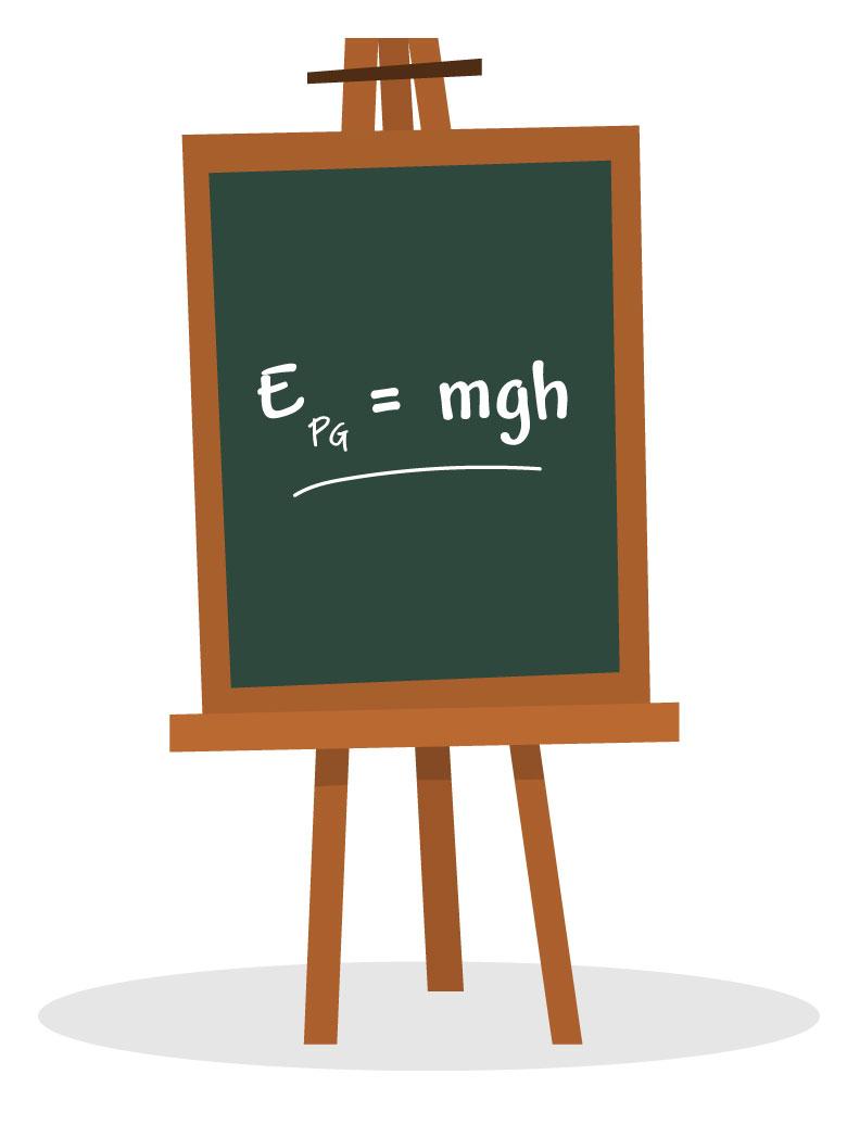 Fórmula da energia potencial gravitacional