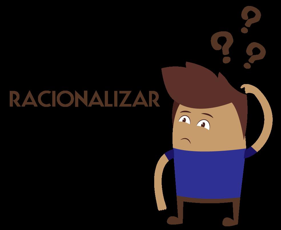 aluno pensando o que é racionalizar